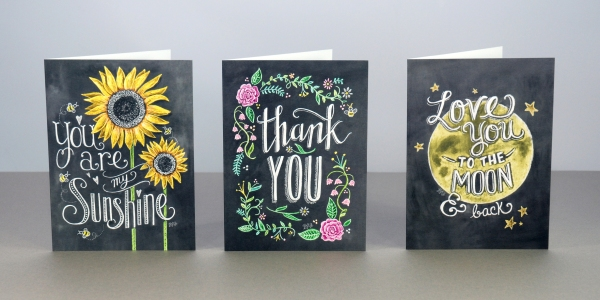 Portico Lily &Val cards